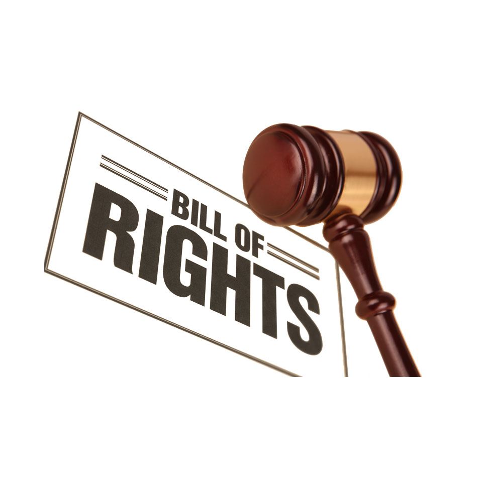 a picture of bill of rights for car buyers