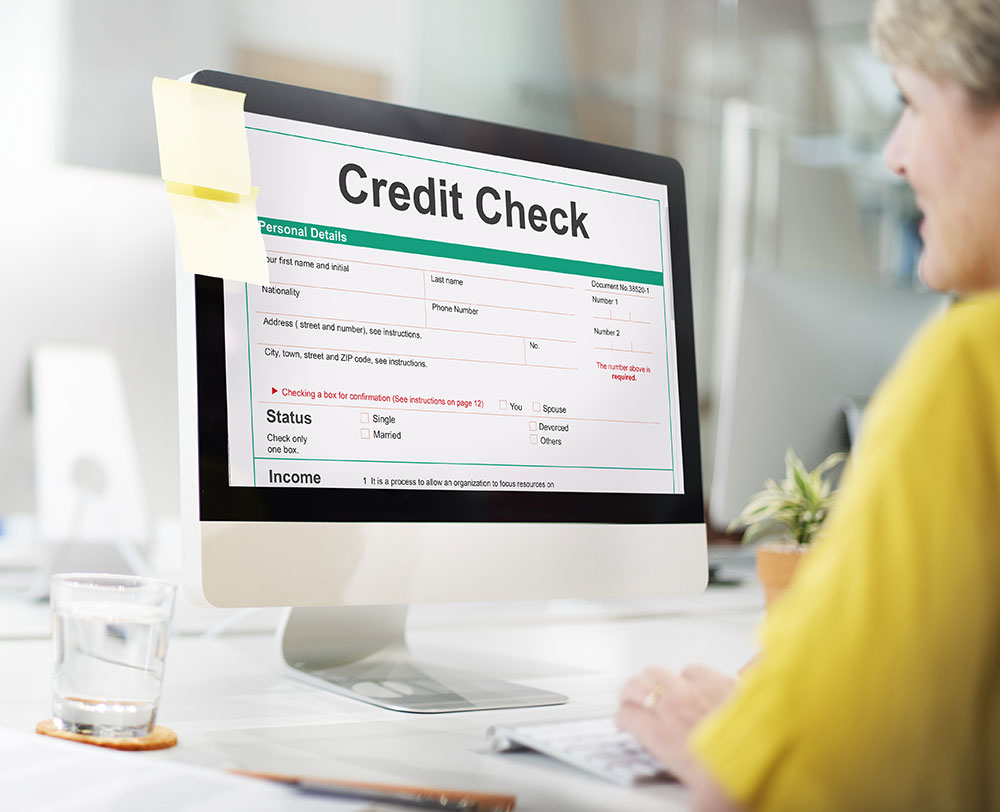 a landlord is checking your credit history