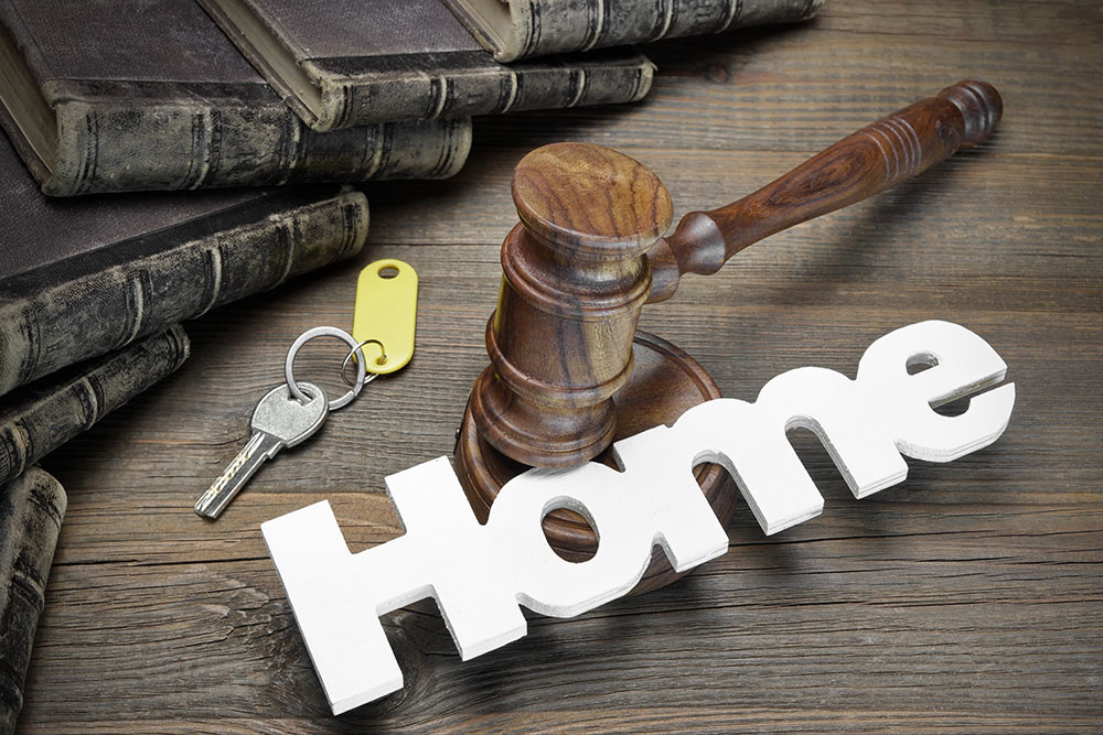 a picture of using your home for bail