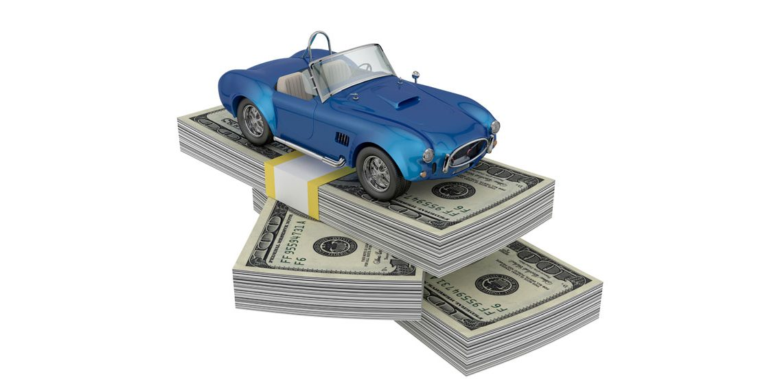 a picture of money that you can get out of a car title loan