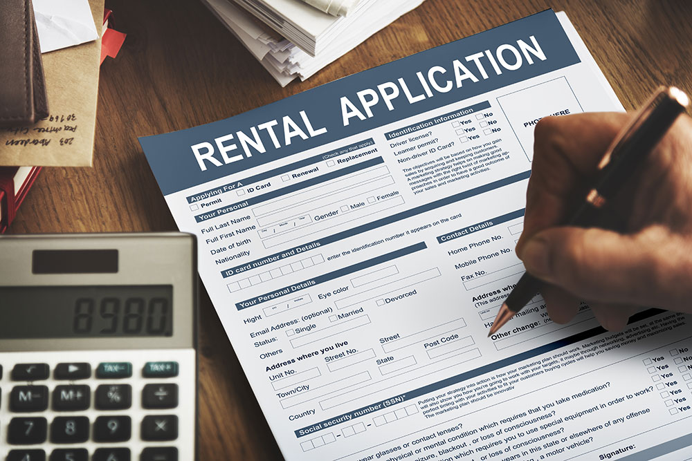 a consumer is getting discriminated on his rental application