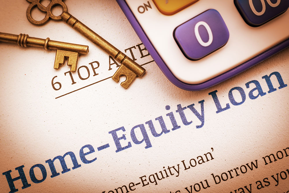 a consumer is getting a home equity loan