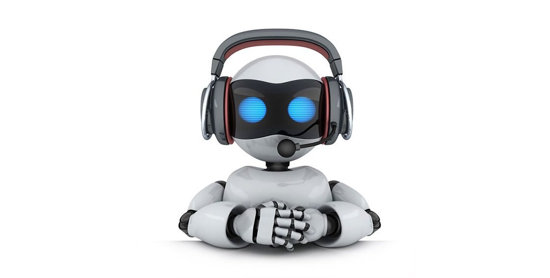 a robot telemarketer ready to talk to you