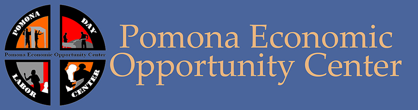 the logo for the Pomona Economic Opportunity Center