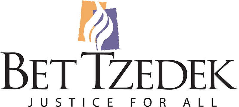 the logo for Bet Tzedek justice for all Organization