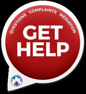 mediation get help complaint button