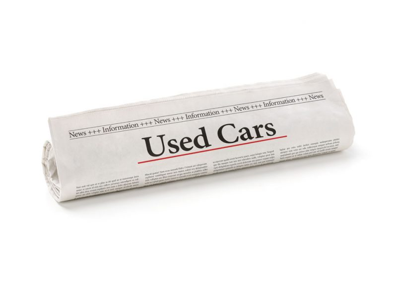 a picture of used cars classifieds newspaper