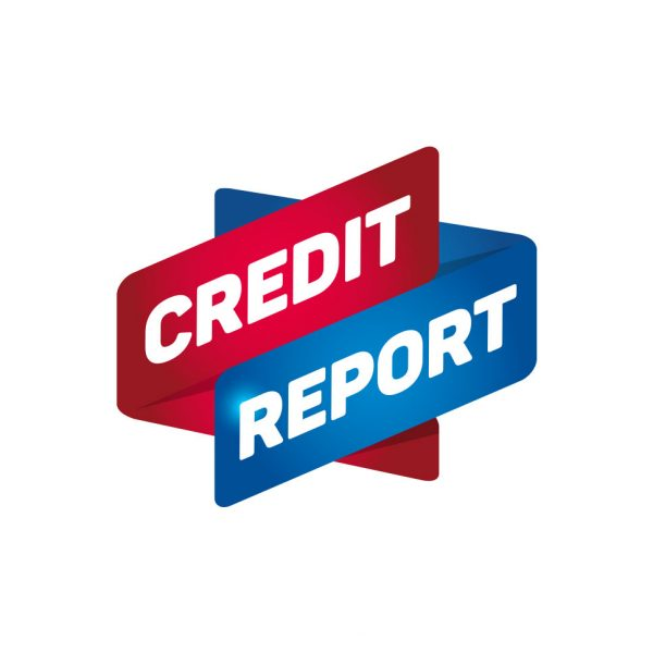 a picture of credit report sign