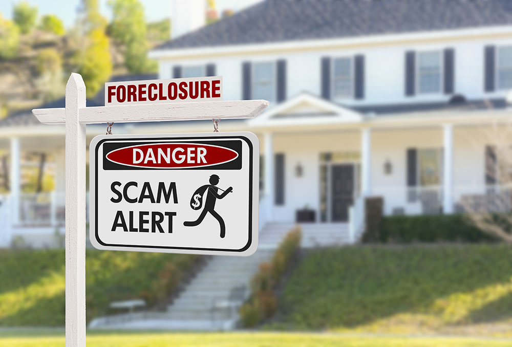a consumer needs to protect him self from a foreclosure scam