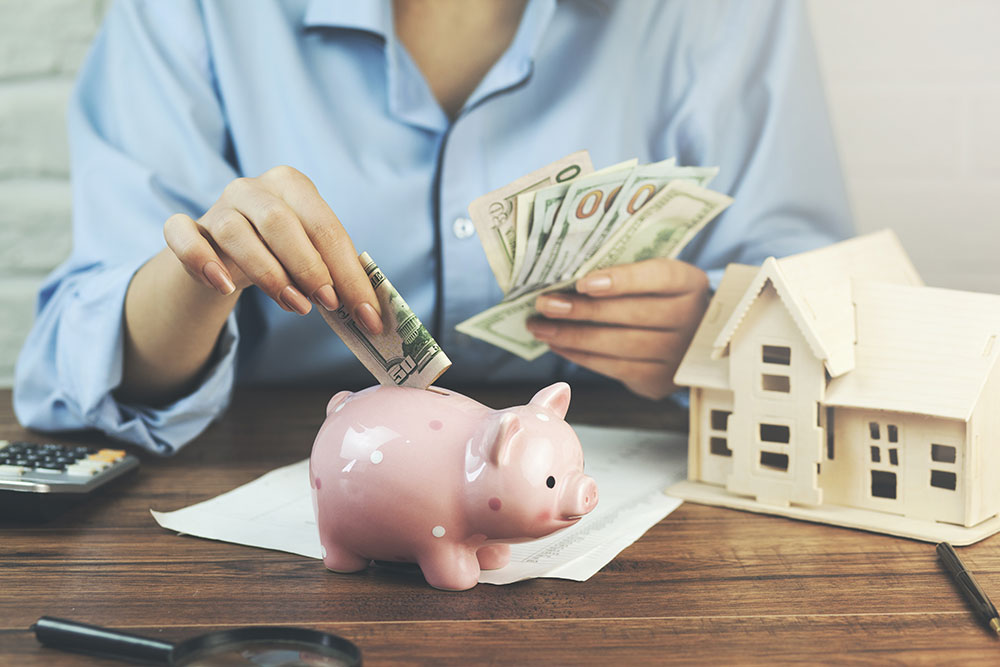 a consumer is saving money for a security deposit