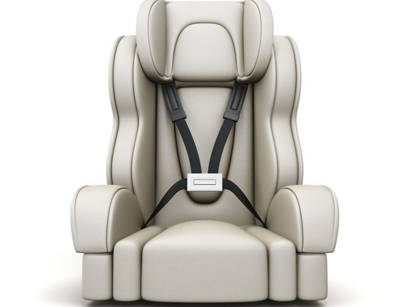 a picture of a carseat to keep children safe