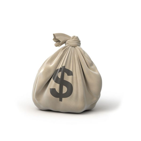 a picture of a money bag