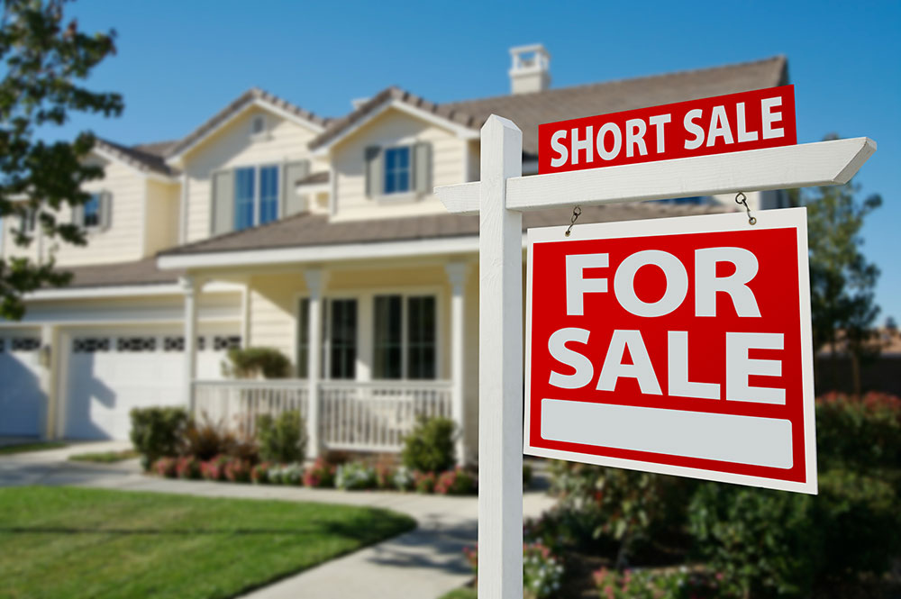 a consumer has his home in a short sale