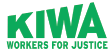 logo for KIWA workers for justice organization