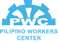 the logo for Pilipino workers center