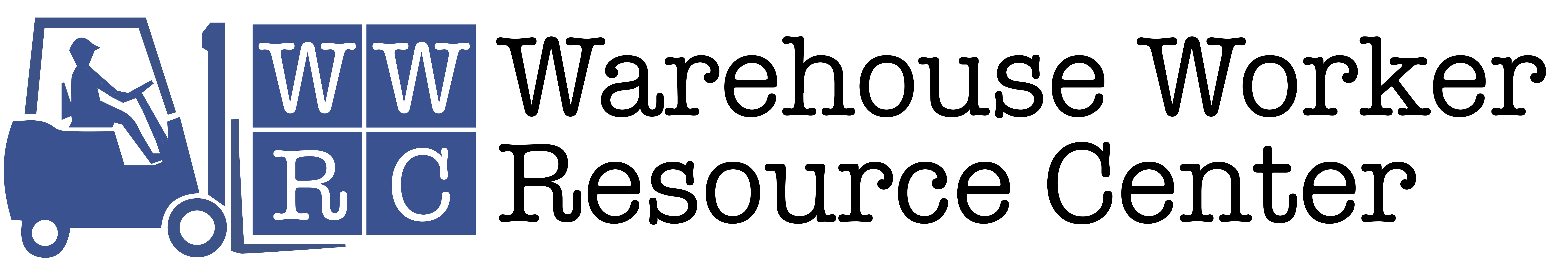 logo for the Warehouse Worker Resource Center