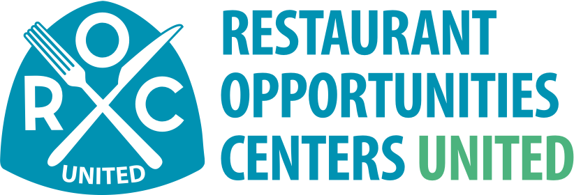the logo for the restaurant opportunities centers united