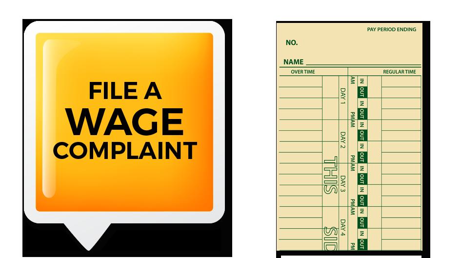 Minimum Wage Complaint tools