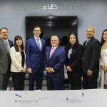 DCBA and DOL leadership poses after signing