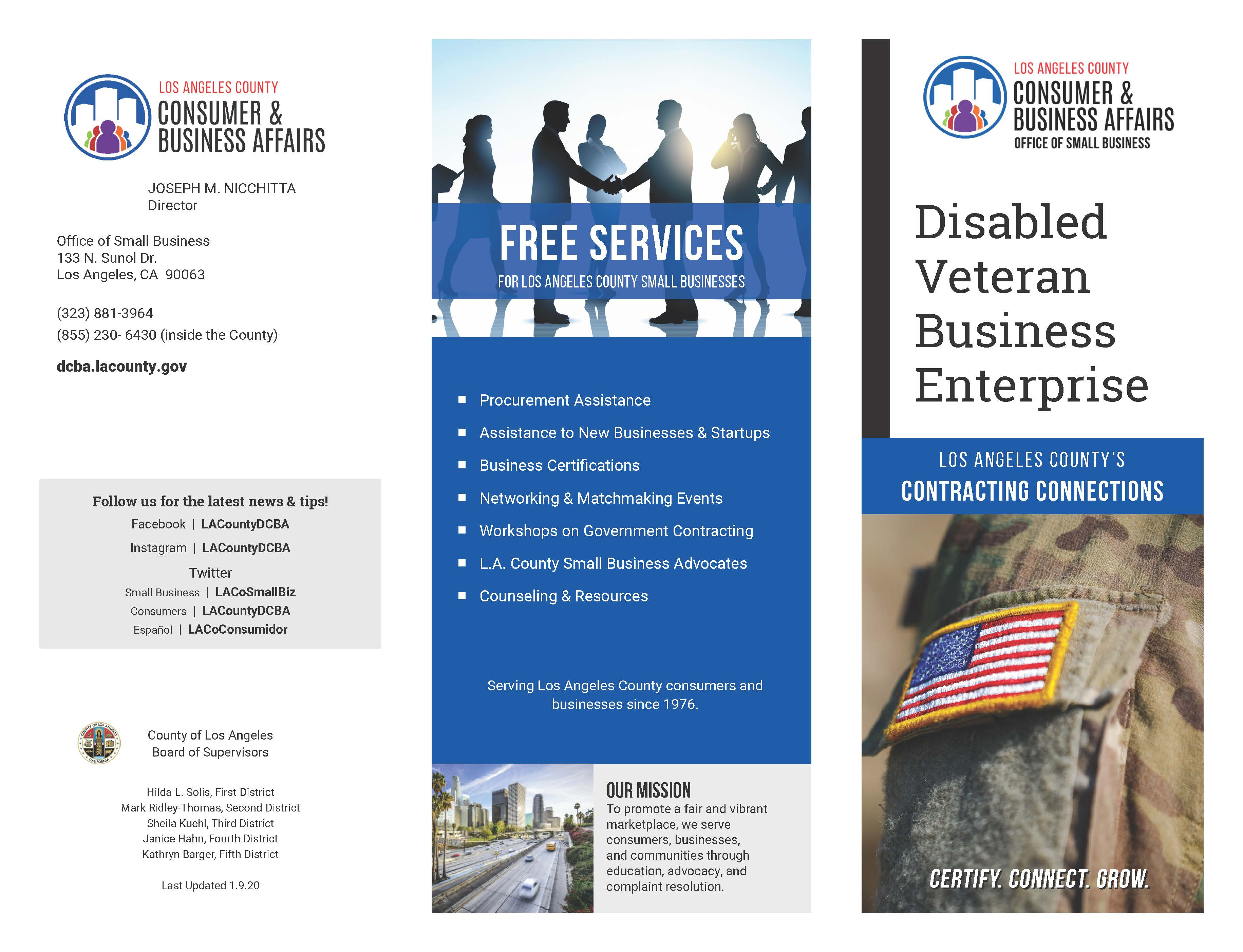 Disabled Veteran Enterprise
