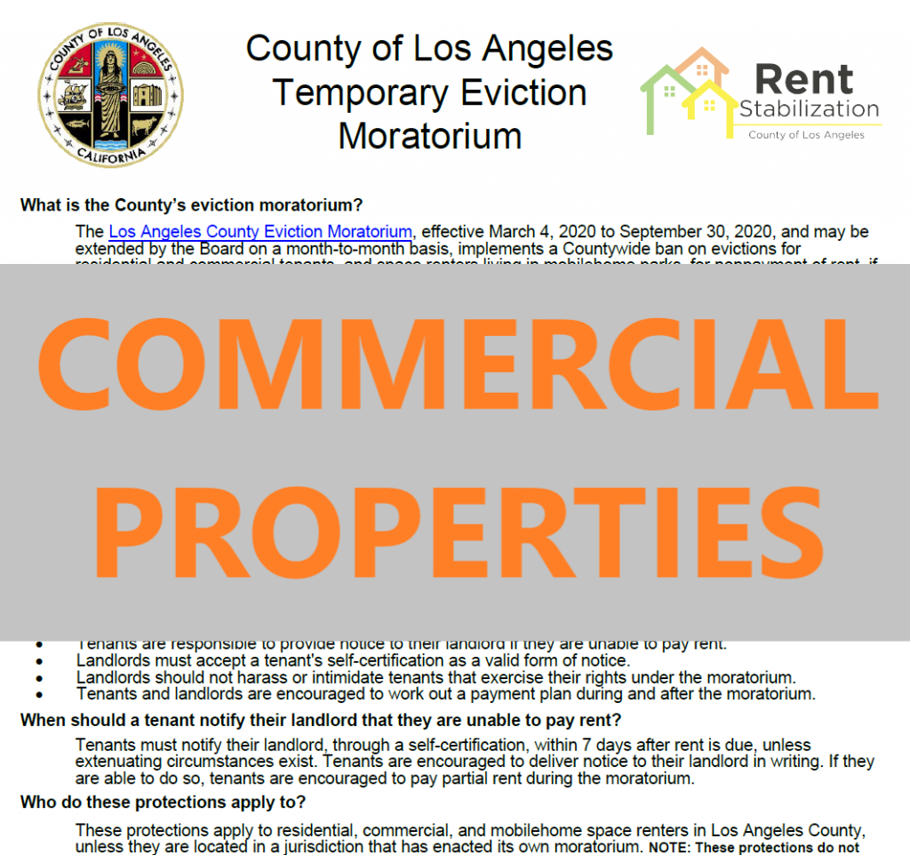 FAQs for Commercial Properties