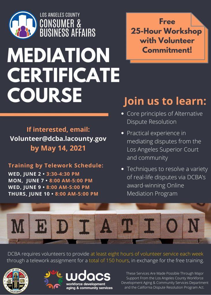 Mediation Flyer