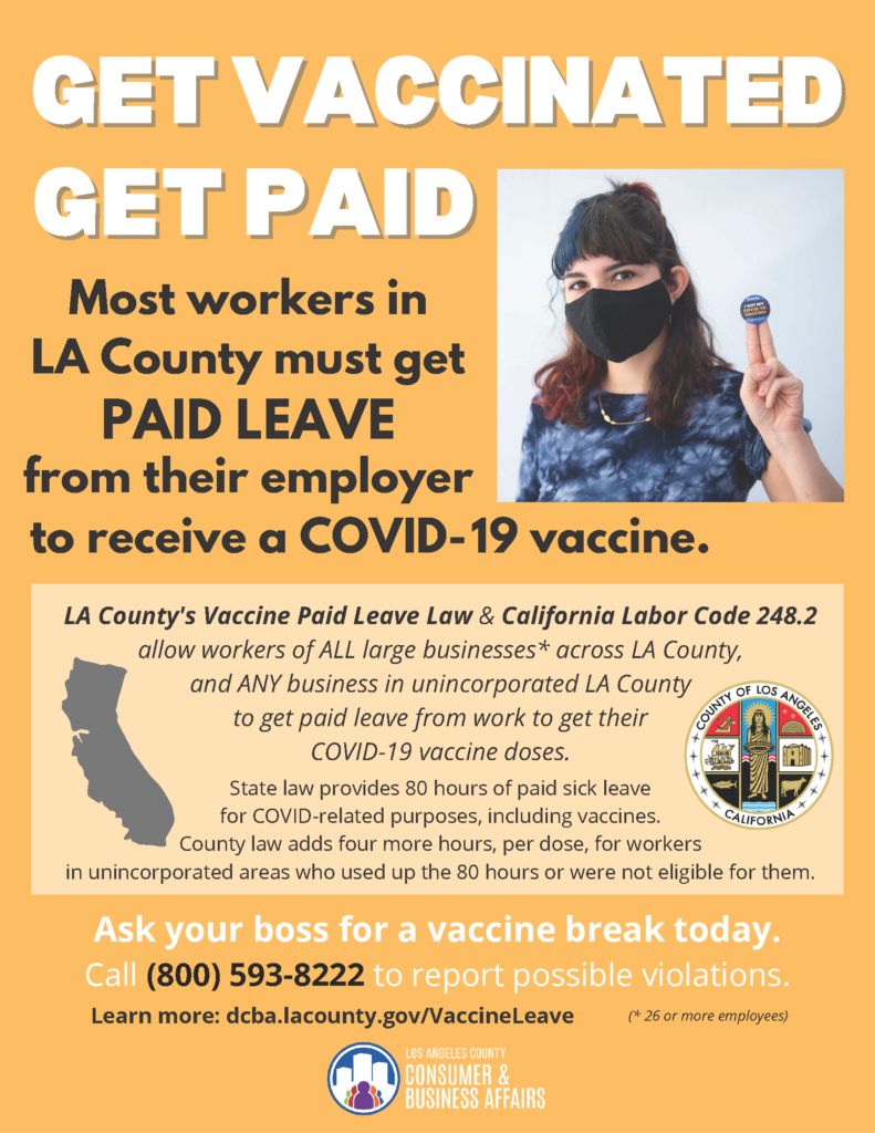 Get Vaccinated Get Paid